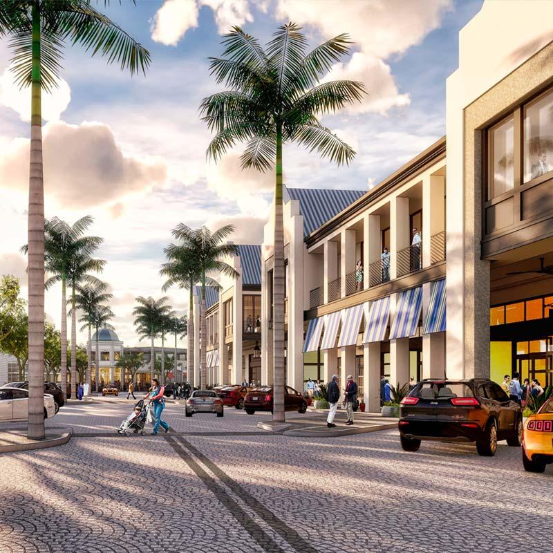 Downtown Wellen shops an restaurants
